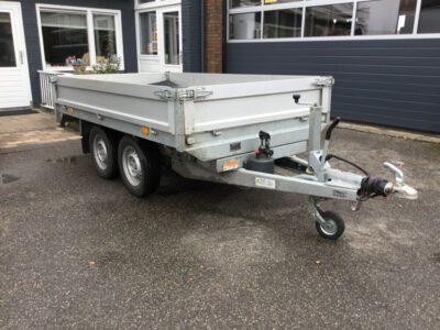 Kipper/plateauwagen Saris 2000 kg K1 276x150 cm